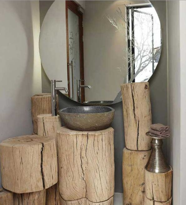 Tree Trunk Coffee Table South Africa: 12 Amazing Pieces Of Rustic Wood Furniture