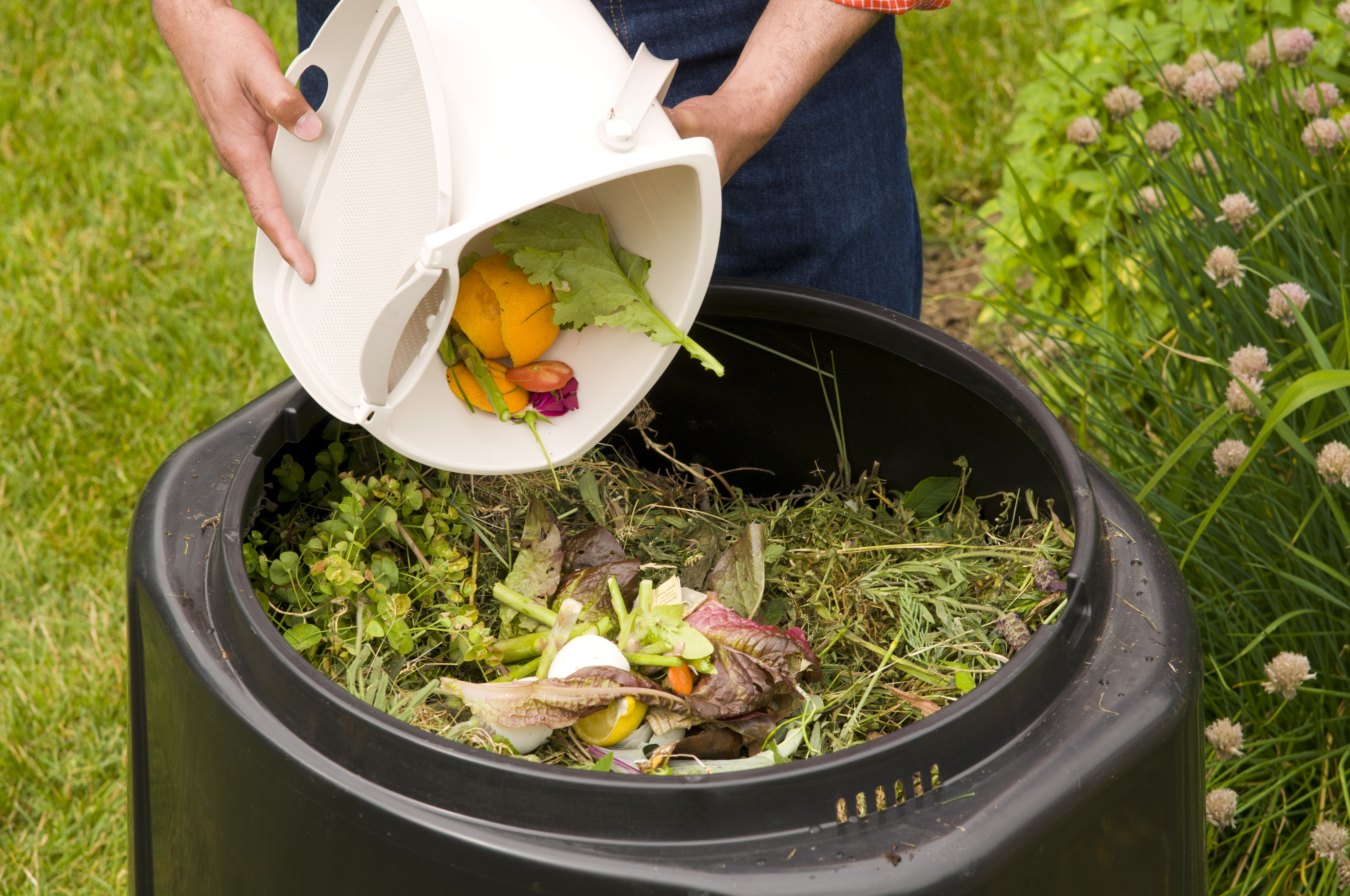 how to create compost pit
